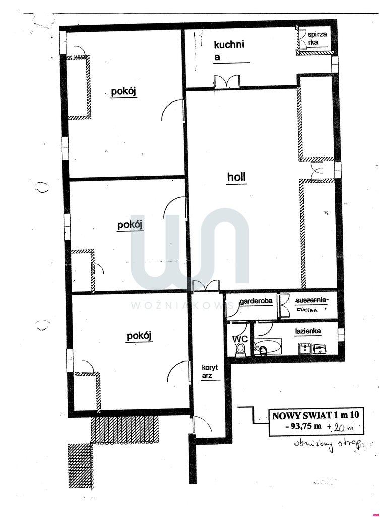 Mieszkanie czteropokojowe  na sprzedaż Warszawa, Śródmieście, Śródmieście Południowe, Nowy Świat  114m2 Foto 3