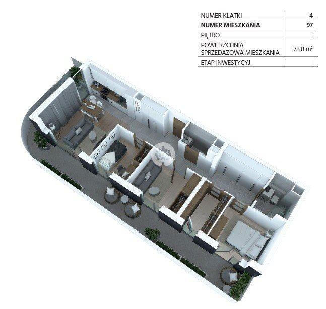 Mieszkanie czteropokojowe  na sprzedaż Bydgoszcz, Szwederowo, Piękna  79m2 Foto 12