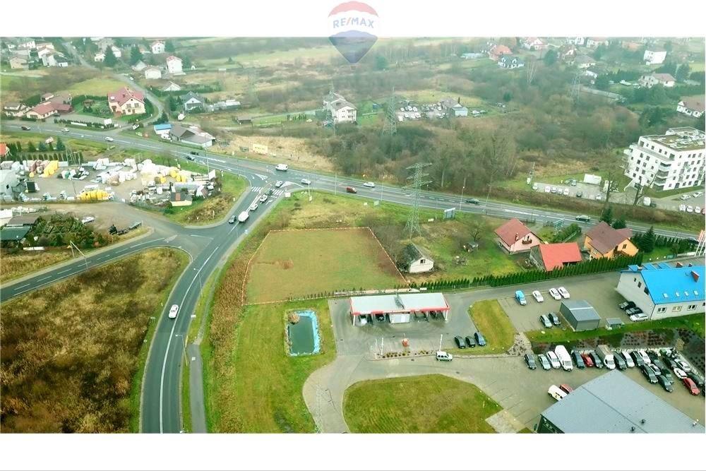 Działka komercyjna pod dzierżawę Skawina  2118m2 Foto 1