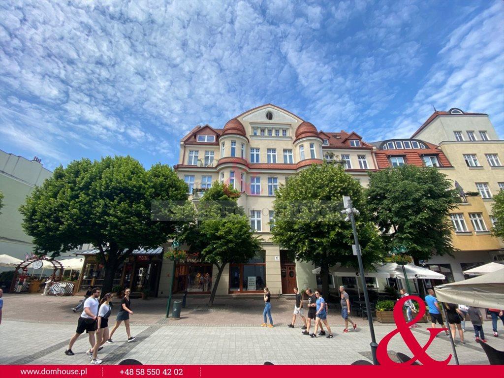 Lokal użytkowy na wynajem Sopot, Centrum, Bohaterów Monte Cassino  85m2 Foto 1
