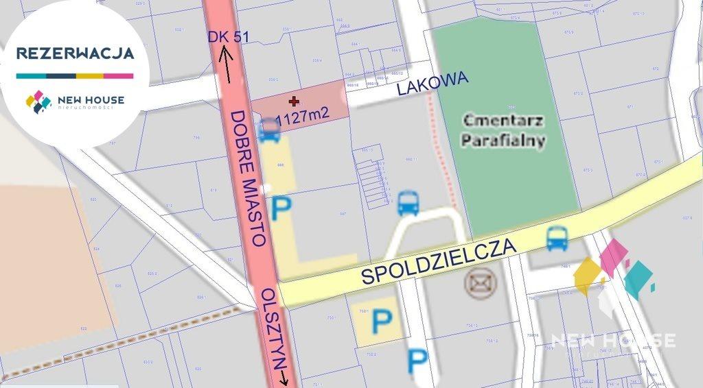 Działka komercyjna na sprzedaż Dywity, Olsztyńska  1127m2 Foto 3