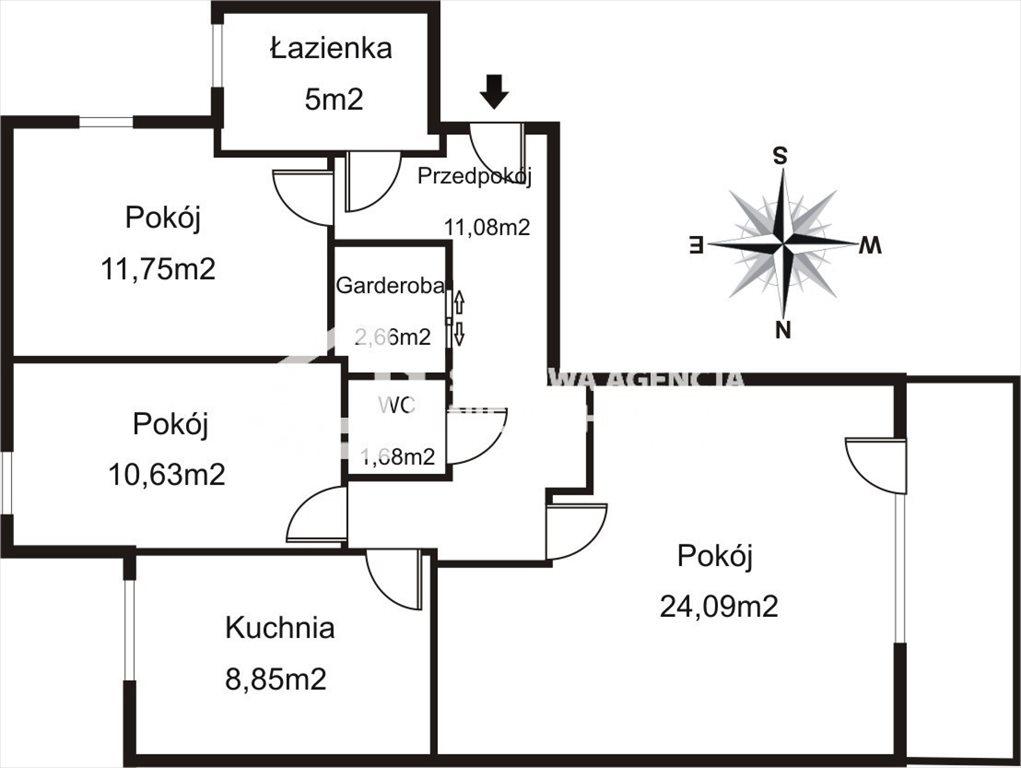 Mieszkanie trzypokojowe na wynajem Gdynia, Redłowo, Legionów  75m2 Foto 10