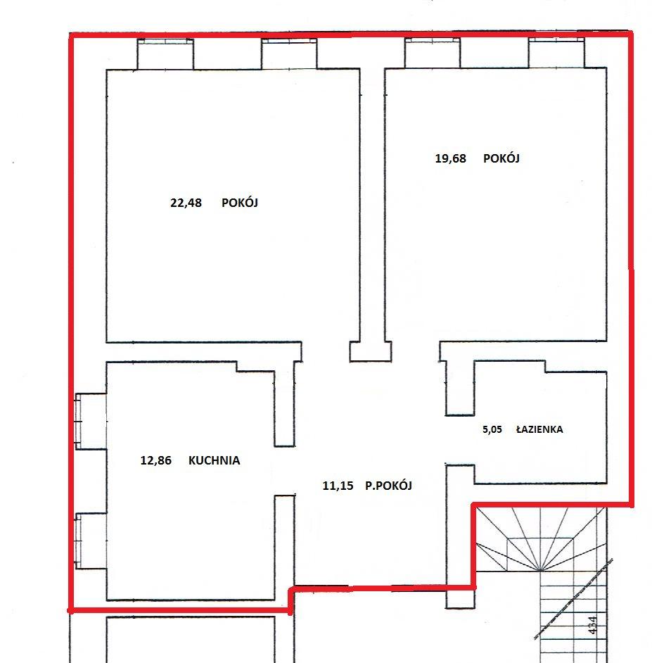 Mieszkanie dwupokojowe na sprzedaż Lubań, Rynek  7122m2 Foto 1