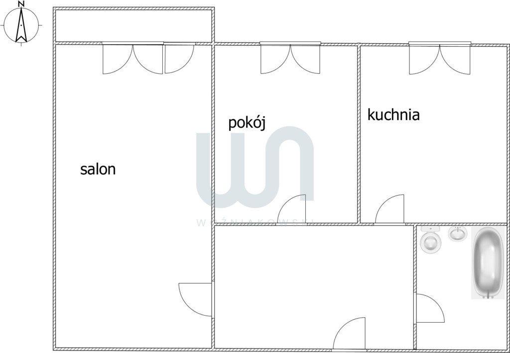 Mieszkanie dwupokojowe na sprzedaż Częstochowa, Wrzosowiak  51m2 Foto 8