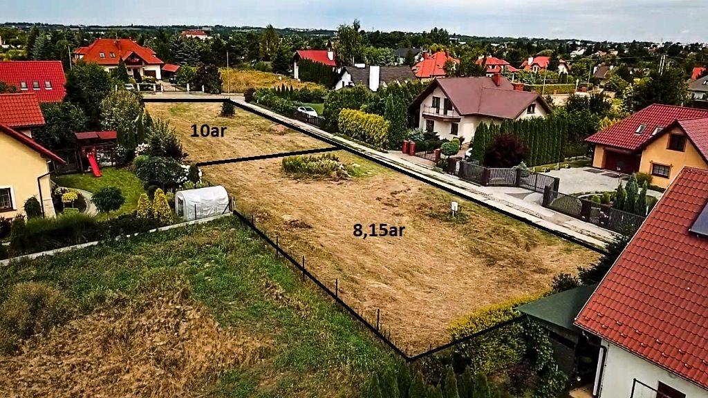 Działka budowlana na sprzedaż Rzeszów, Saletyńska  815m2 Foto 1
