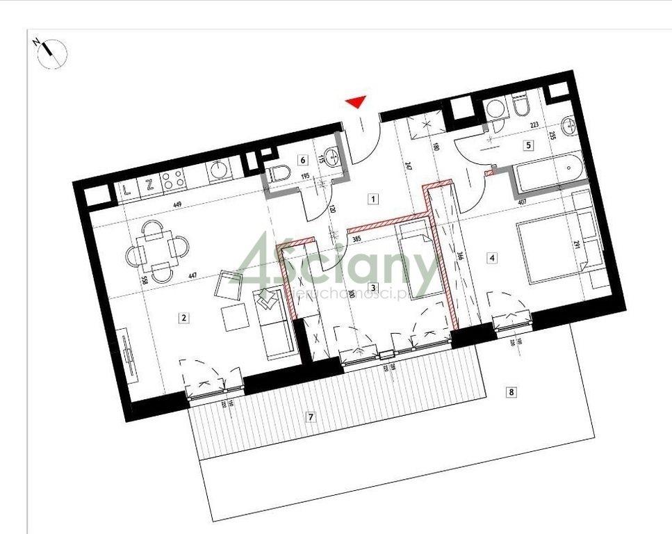 Mieszkanie trzypokojowe na sprzedaż Warszawa, Praga-Północ, Szwedzka  69m2 Foto 4