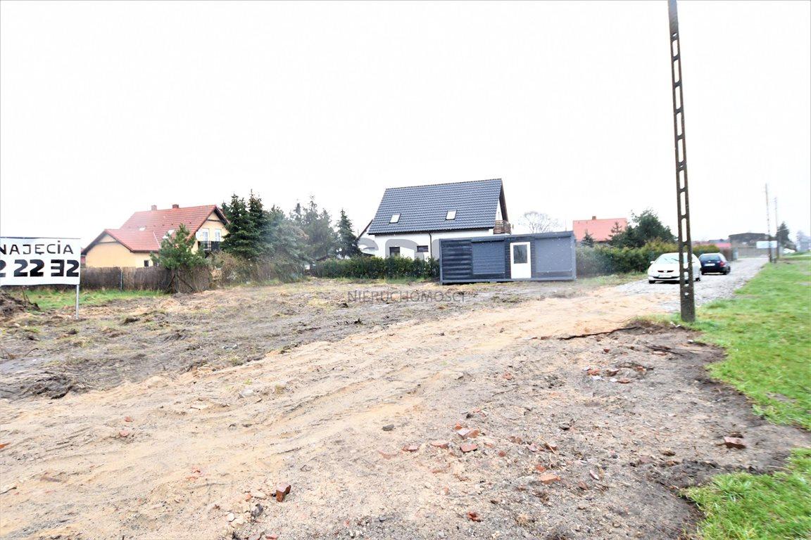 Działka przemysłowo-handlowa pod dzierżawę Marcinkowice  3581m2 Foto 1