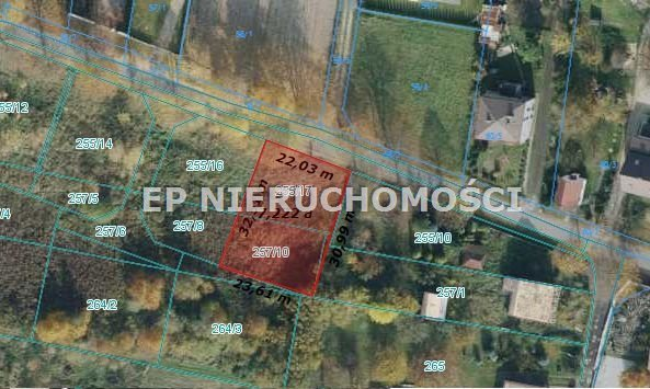 Działka budowlana na sprzedaż Częstochowa, Wyczerpy Górne  730m2 Foto 5