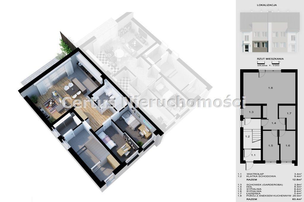 Mieszkanie trzypokojowe na sprzedaż RZESZÓW, Budziwój  130m2 Foto 3