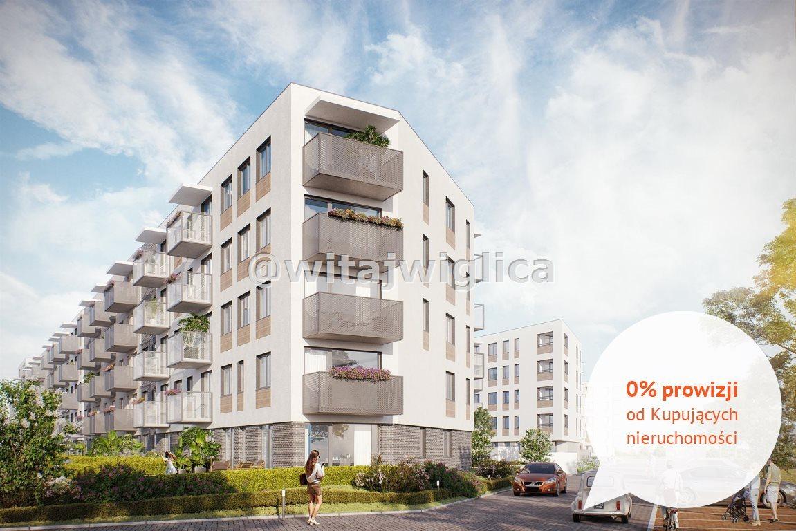 Mieszkanie trzypokojowe na sprzedaż Wrocław, Krzyki, Klecina, Jutrzenki  53m2 Foto 1