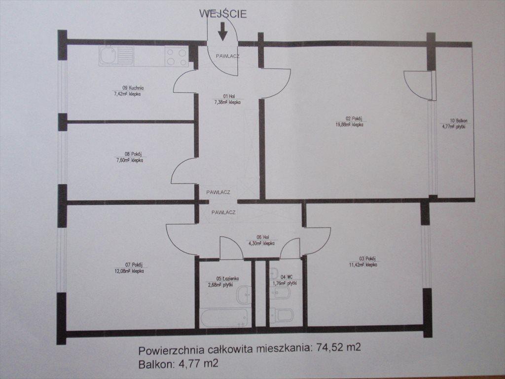Mieszkanie czteropokojowe  na sprzedaż Warszawa, Bemowo, Jelonki, Rozłogi  75m2 Foto 18
