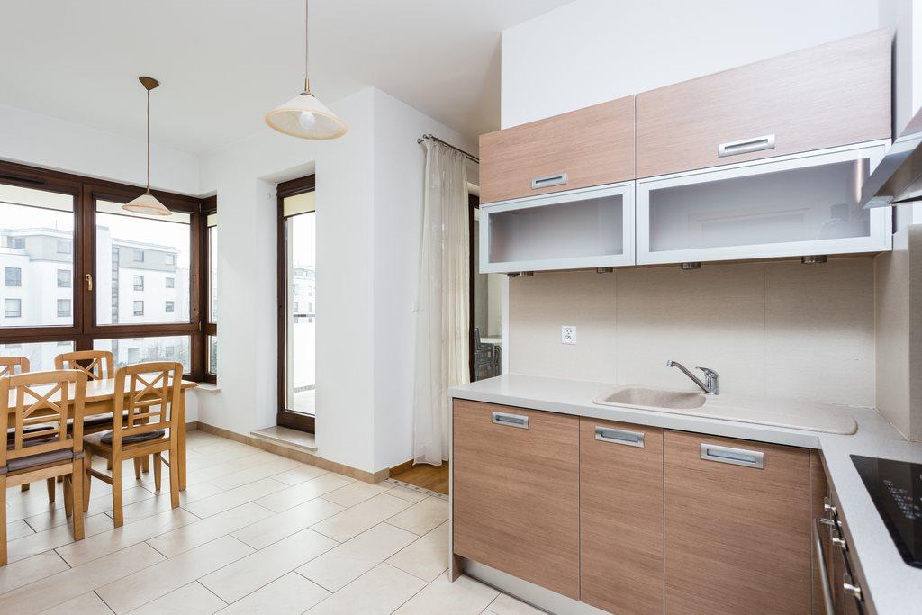Mieszkanie czteropokojowe  na wynajem Warszawa, Wilanów, Miasteczko Wilanów, Sarmacka  125m2 Foto 1