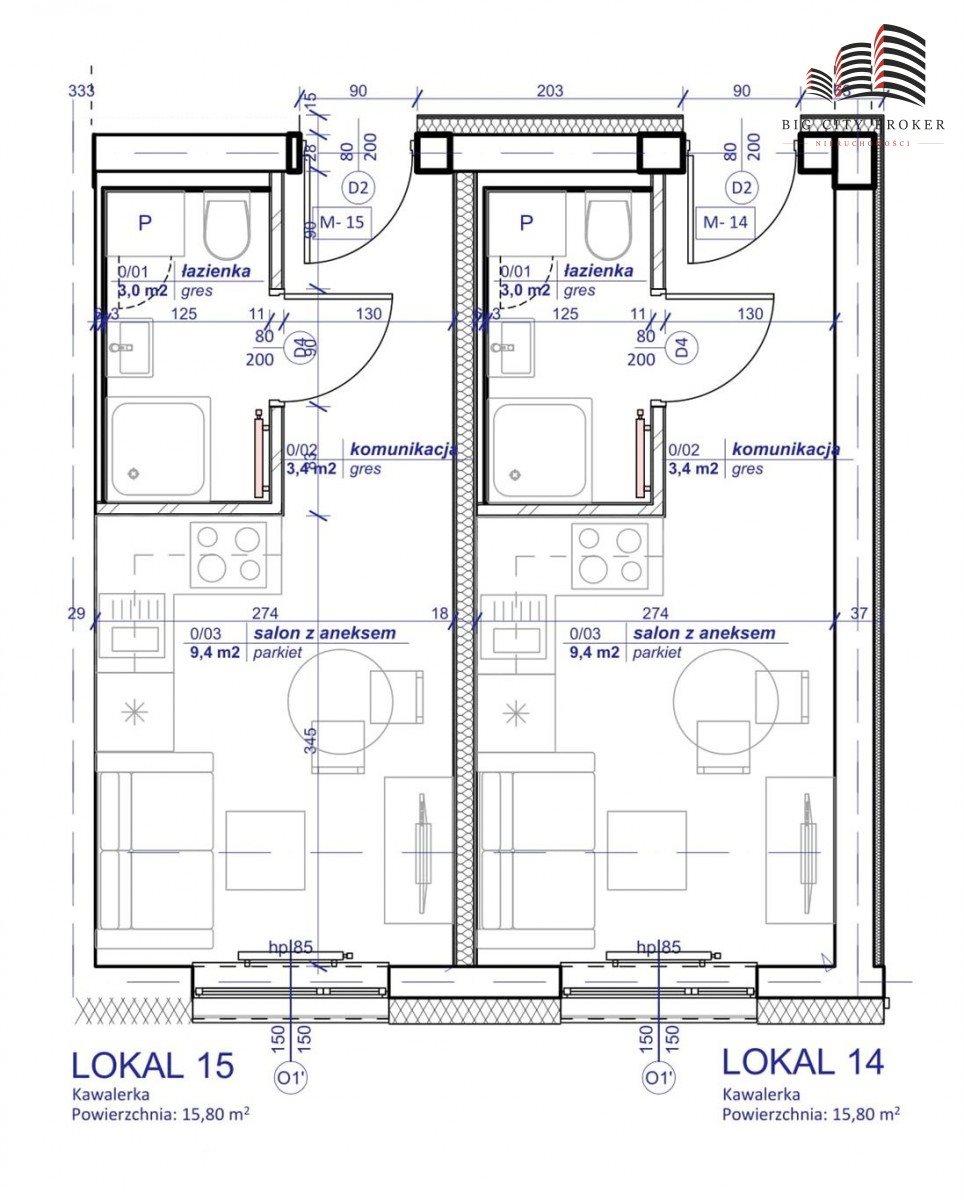 Mieszkanie dwupokojowe na sprzedaż Lublin, Wrotków  34m2 Foto 2