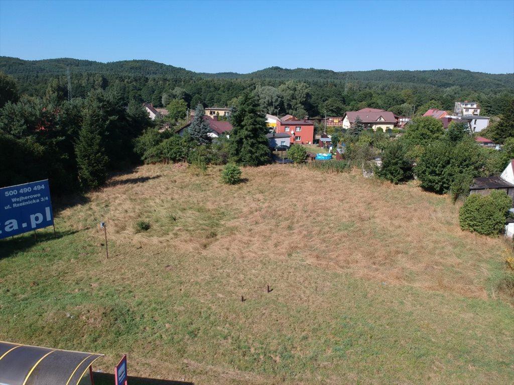 Działka przemysłowo-handlowa pod dzierżawę Reda, Wejherowska  2517m2 Foto 2