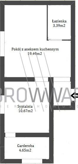 Mieszkanie dwupokojowe na sprzedaż Poznań, Stęszewska  38m2 Foto 1