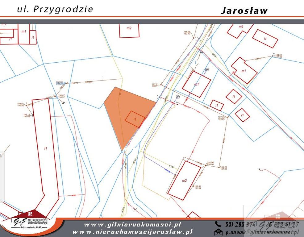 Działka budowlana na sprzedaż Jarosław, Przygrodzie  361m2 Foto 5