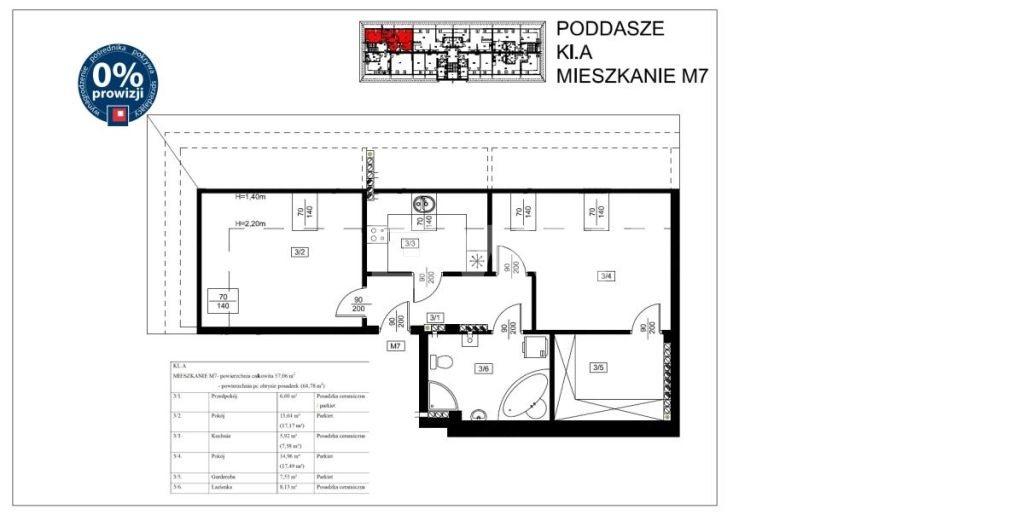 Mieszkanie dwupokojowe na sprzedaż Szprotawa, Koszarowa  57m2 Foto 2
