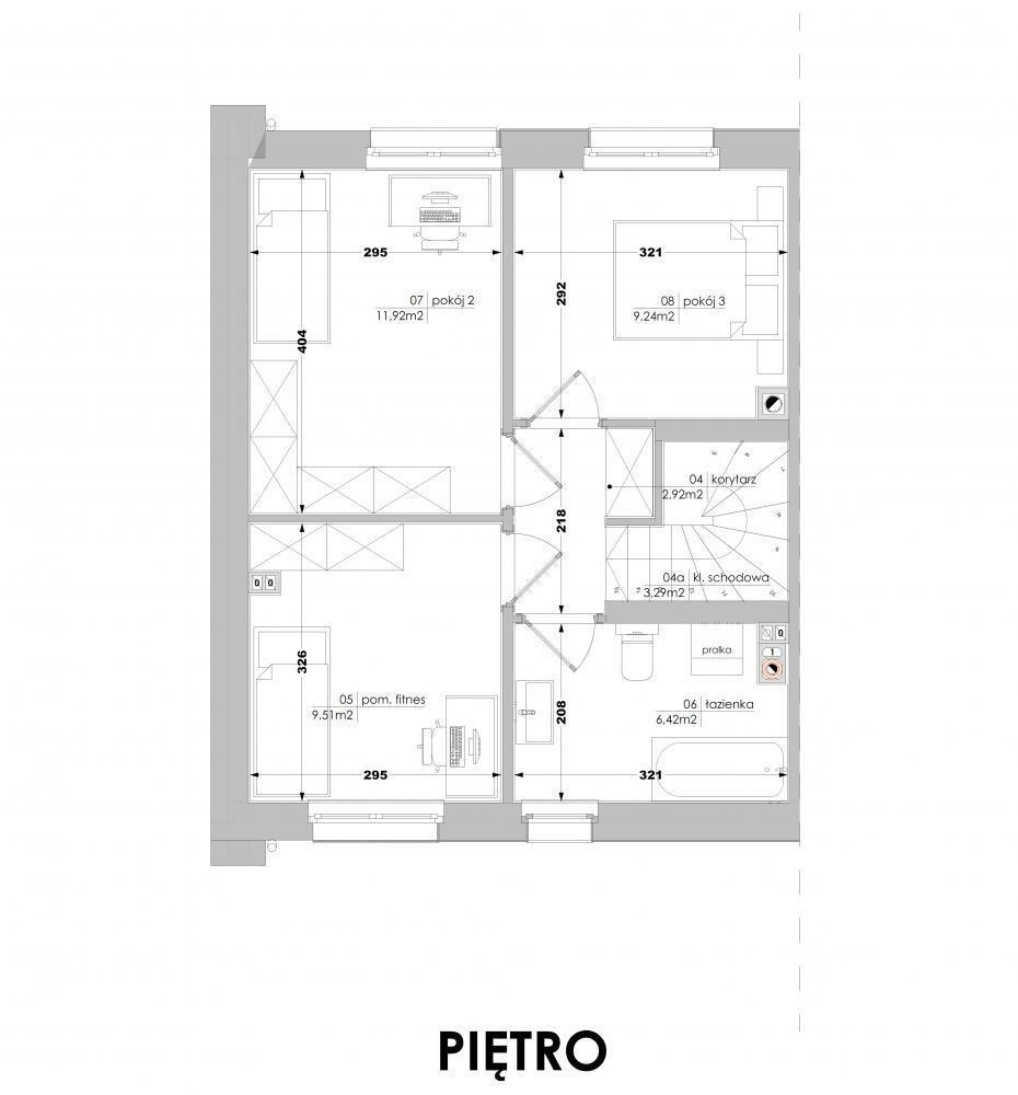 Mieszkanie czteropokojowe  na sprzedaż Luboń, Lasek  90m2 Foto 8