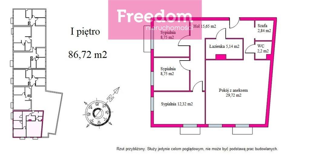 Mieszkanie czteropokojowe  na sprzedaż Olsztyn, Dąbrowszczaków  87m2 Foto 3