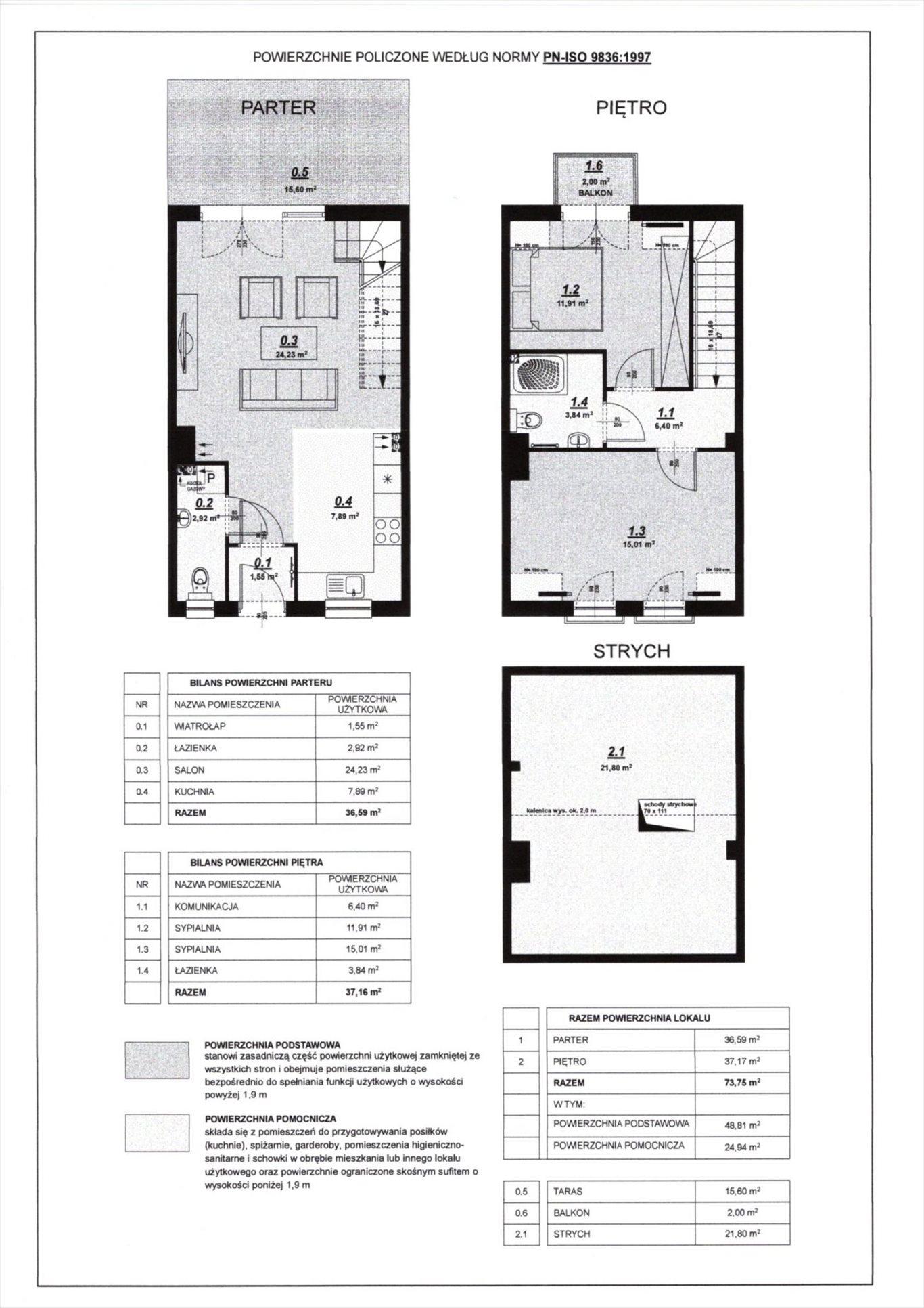 Dom na sprzedaż Błażejewo  74m2 Foto 13