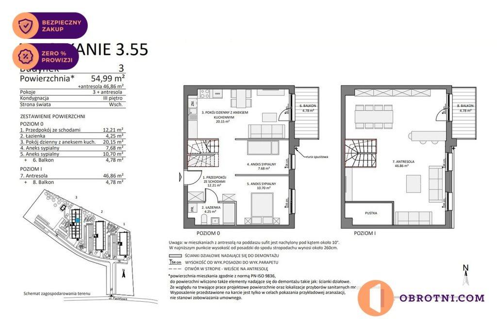 Mieszkanie czteropokojowe  na sprzedaż Gdańsk, Łostowice, Pastelowa  102m2 Foto 4