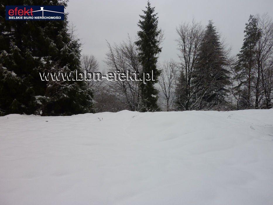 Działka leśna na sprzedaż Międzybrodzie Bialskie  3600m2 Foto 3