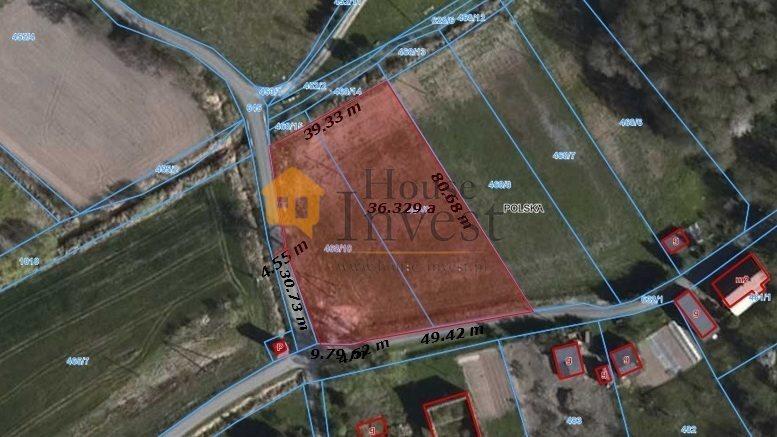 Działka budowlana na sprzedaż Lubiatów  3600m2 Foto 1