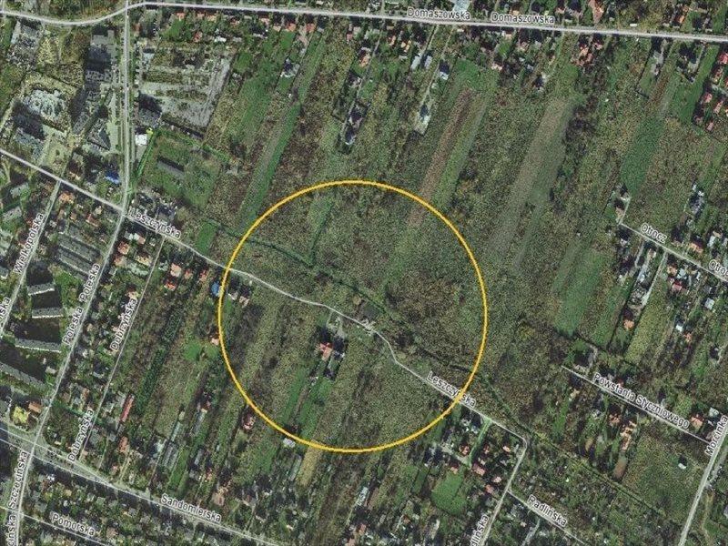 Działka budowlana na sprzedaż Kielce, Nowy Folwark, Leszczyńska  1733m2 Foto 1