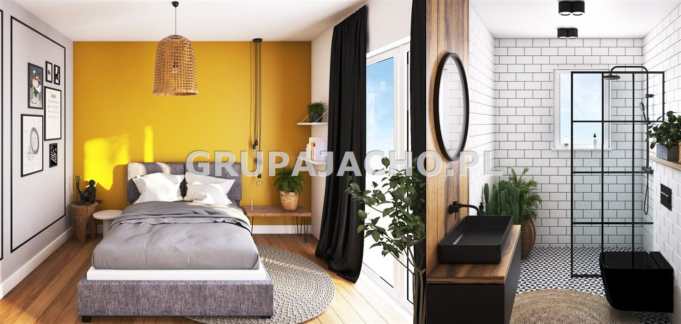 Mieszkanie na sprzedaż Mikołów, Mokre, Maków  77m2 Foto 3