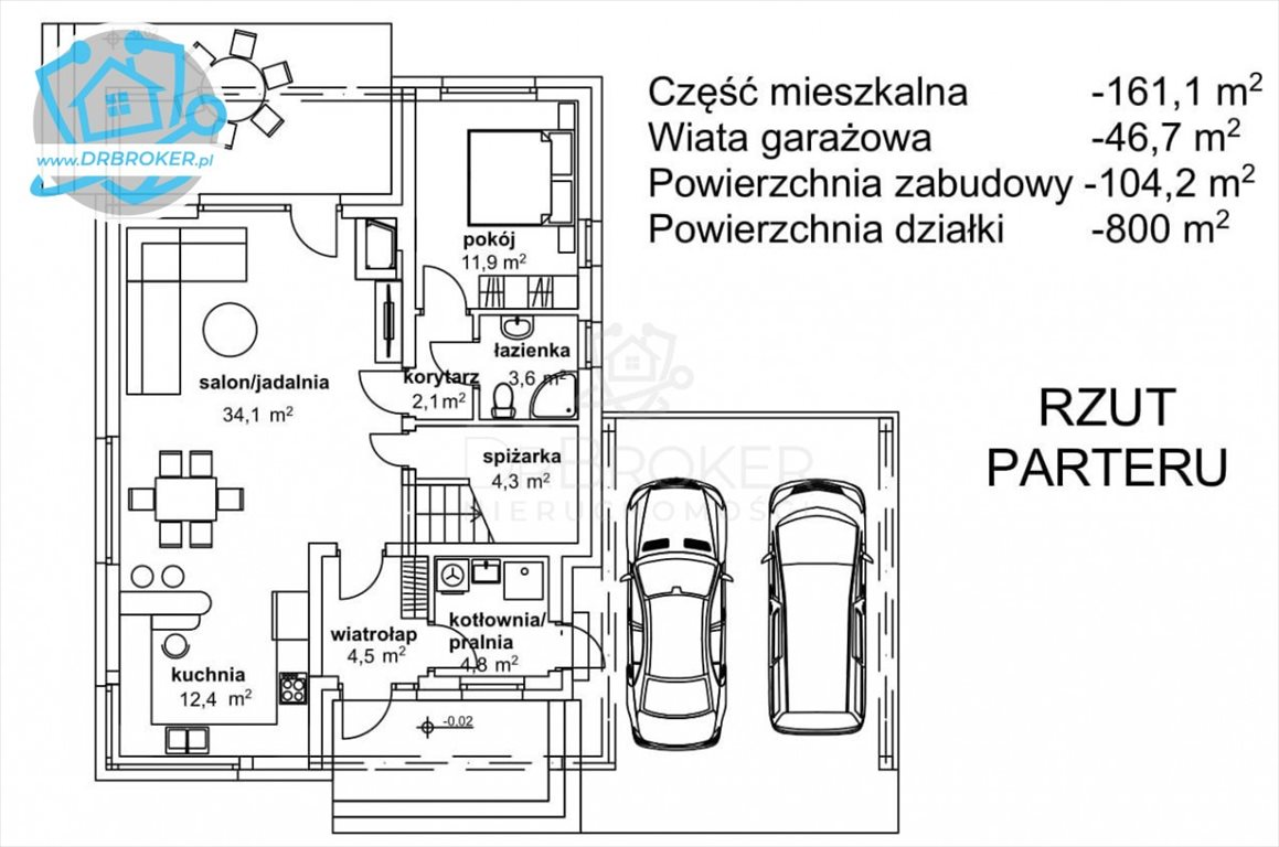 Dom na sprzedaż Jaworówka  161m2 Foto 7