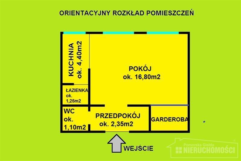 Kawalerka na sprzedaż Szczecinek, Jezioro, Kościół, Park, Plac zabaw, Przedszkole, P, Mierosławskiego  27m2 Foto 9