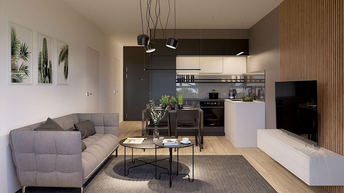 Mieszkanie dwupokojowe na sprzedaż Szczecin, Centrum  40m2 Foto 4