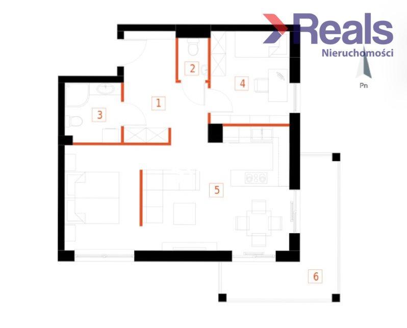 Mieszkanie trzypokojowe na sprzedaż Przemyśl, Bakończyce, Żołnierzy I Armii Wojska Polskiego  60m2 Foto 2