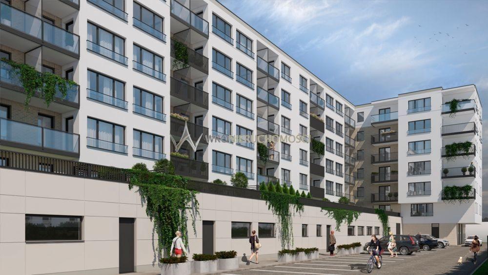 Mieszkanie trzypokojowe na sprzedaż Wrocław, Kręta  54m2 Foto 4