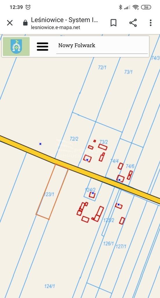 Działka budowlana na sprzedaż Nowy Folwark  2600m2 Foto 3