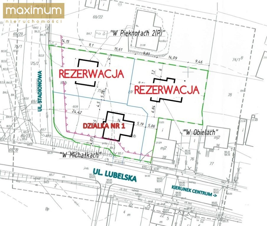 Działka budowlana na sprzedaż Biłgoraj  891m2 Foto 1