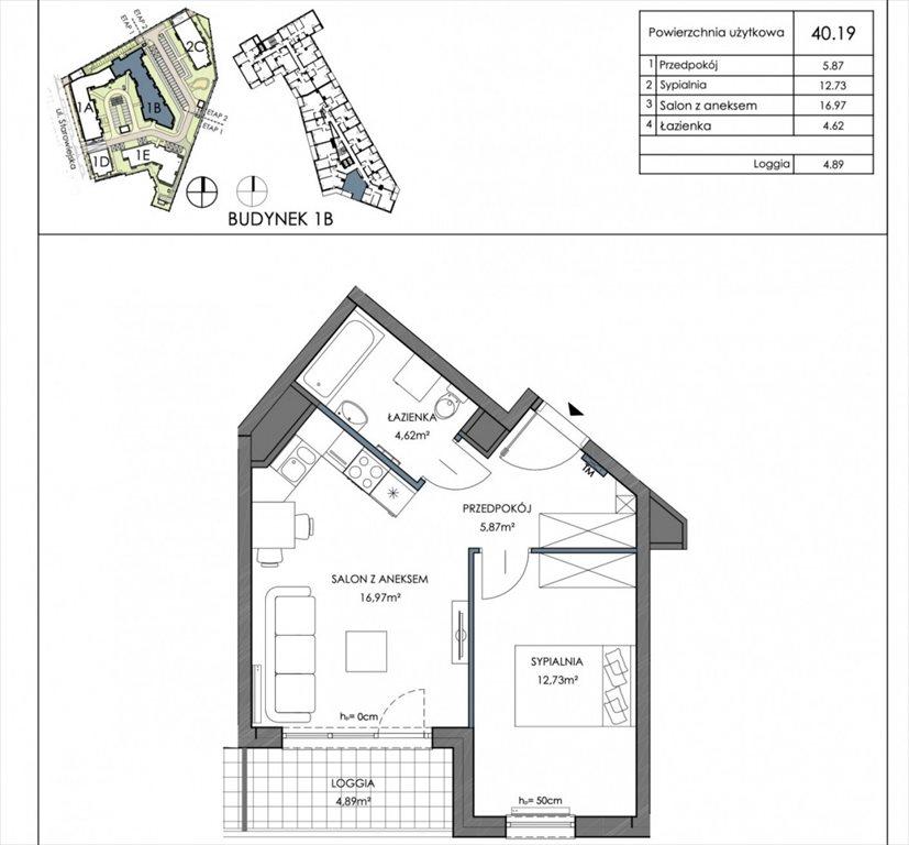 Mieszkanie dwupokojowe na sprzedaż Gdańsk, Letnica  40m2 Foto 2