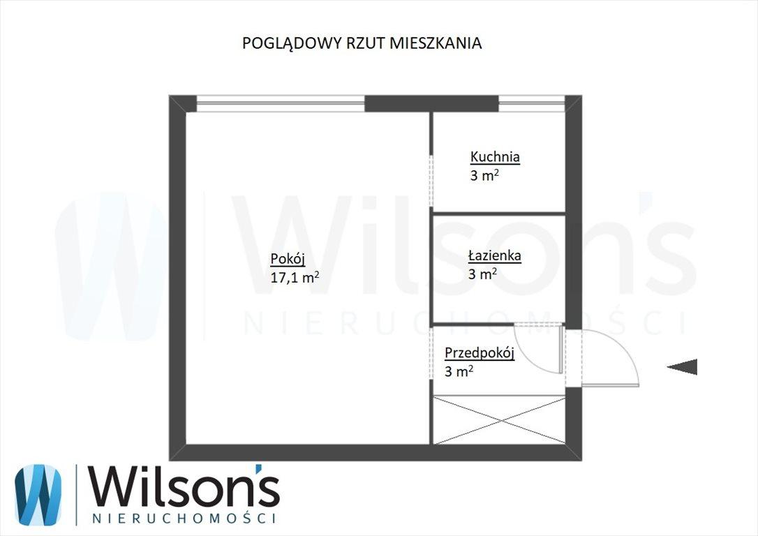 Kawalerka na sprzedaż Warszawa, Wola Muranów, Niska  26m2 Foto 11