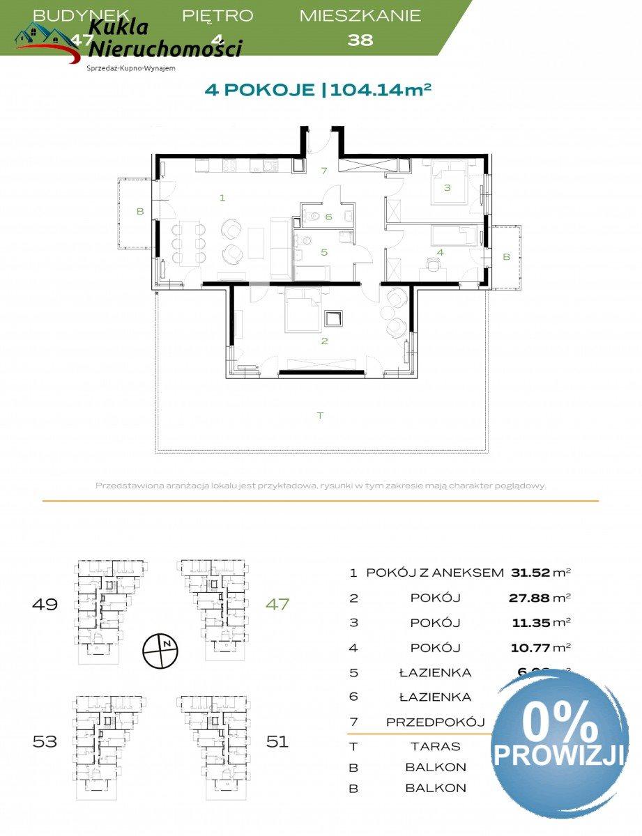 Mieszkanie na sprzedaż Kraków, Prądnik Biały, Stefana Banacha  103m2 Foto 4
