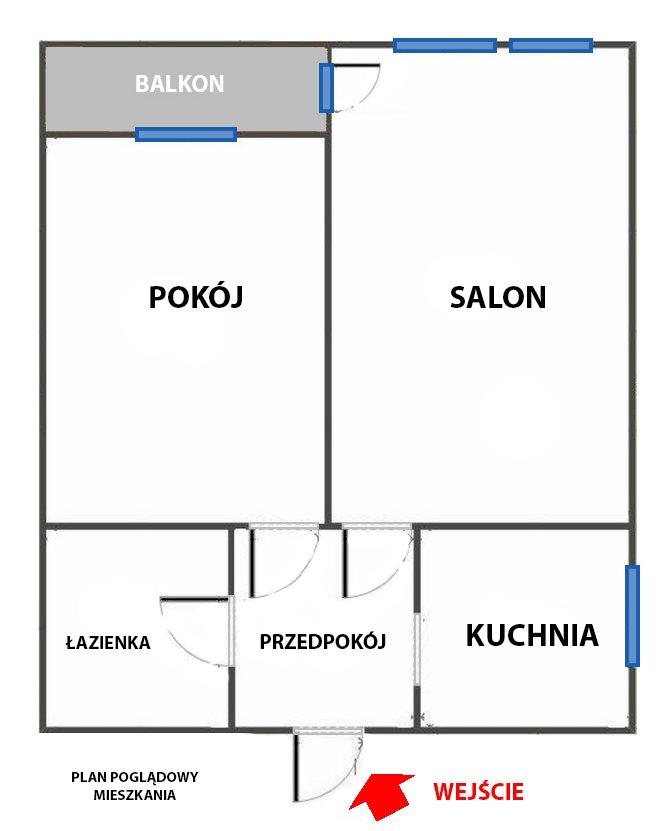 Mieszkanie dwupokojowe na sprzedaż Warszawa, Praga Południe, PESZTEŃSKA 10A  36m2 Foto 7