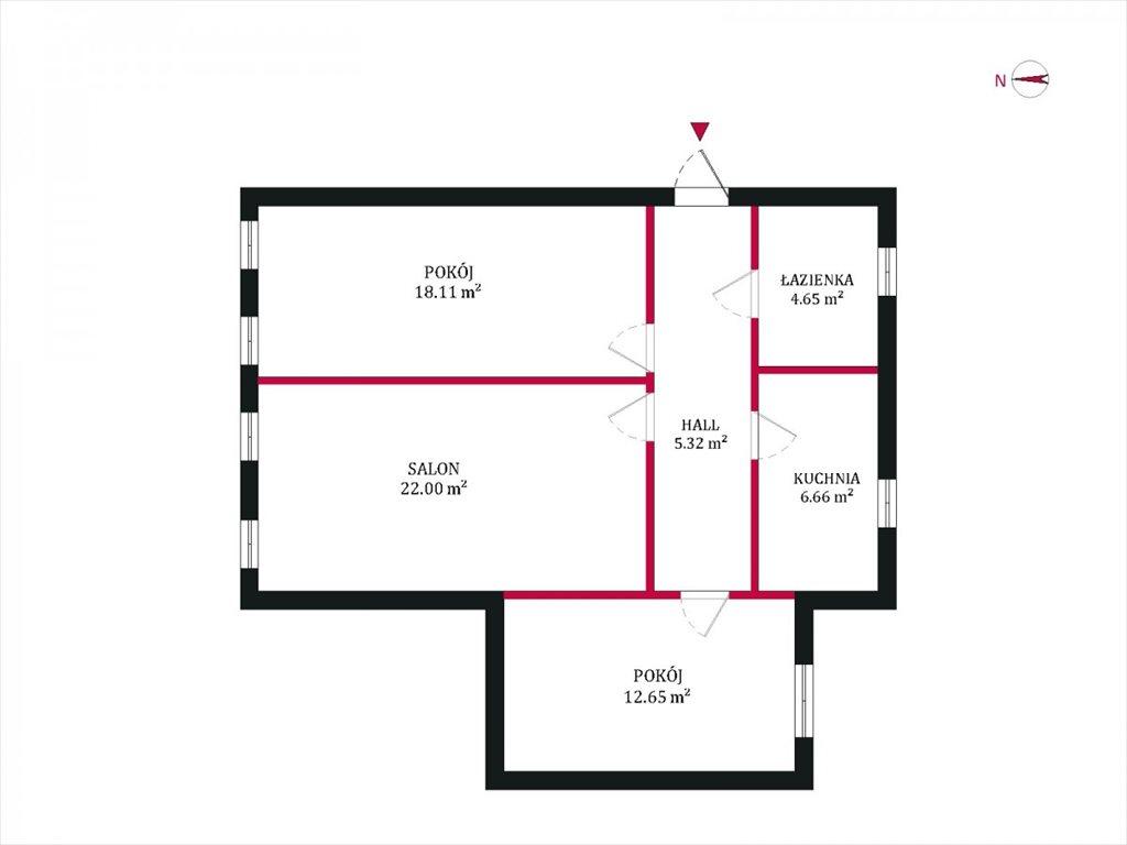Mieszkanie trzypokojowe na sprzedaż Gdańsk, Śródmieście, Chłodna  69m2 Foto 12