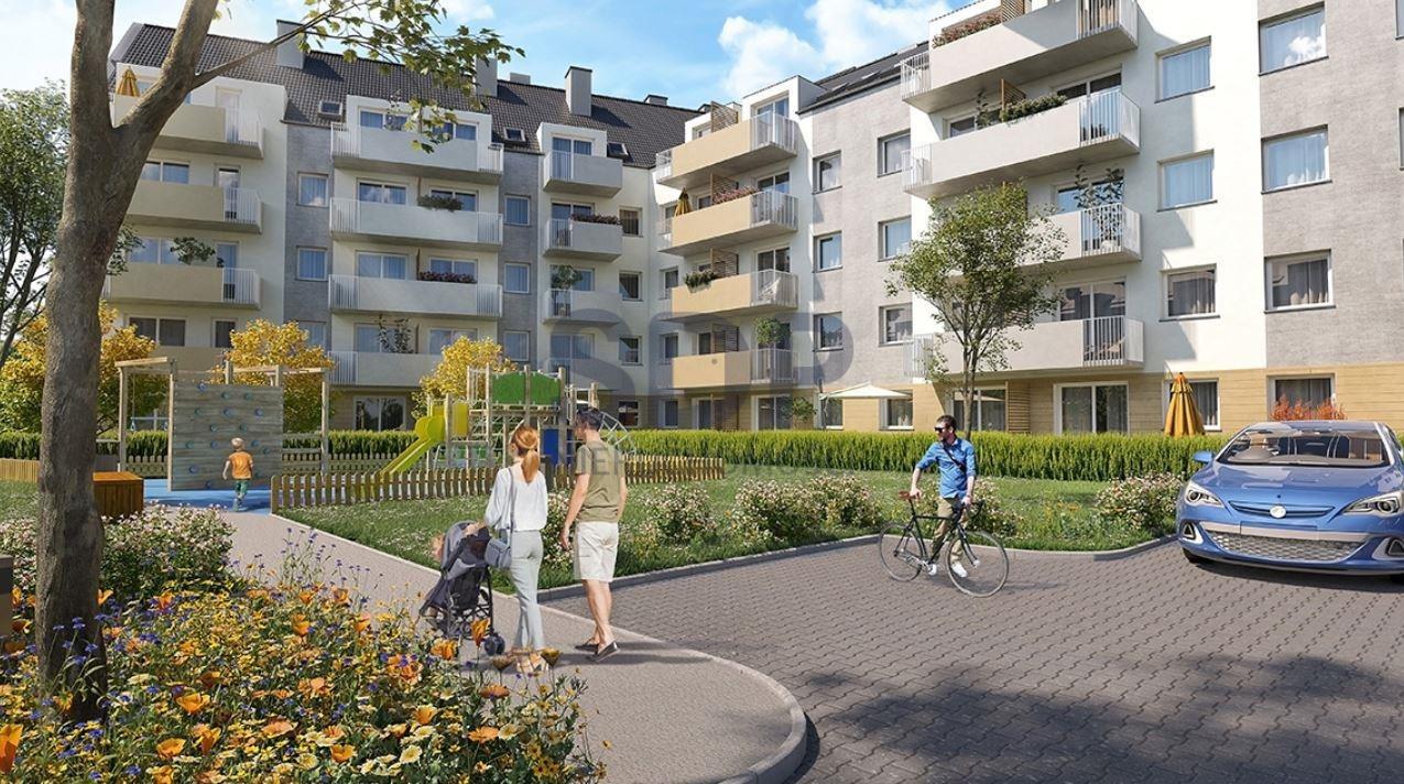 Mieszkanie trzypokojowe na sprzedaż Wrocław, Krzyki, Wojszyce, Buforowa  48m2 Foto 3