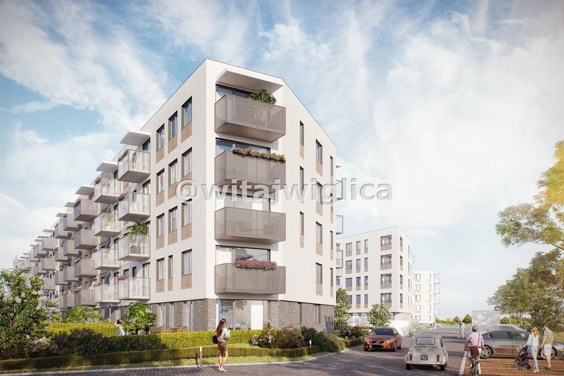 Mieszkanie dwupokojowe na sprzedaż Wrocław, Krzyki, Klecina, Jutrzenki  45m2 Foto 5