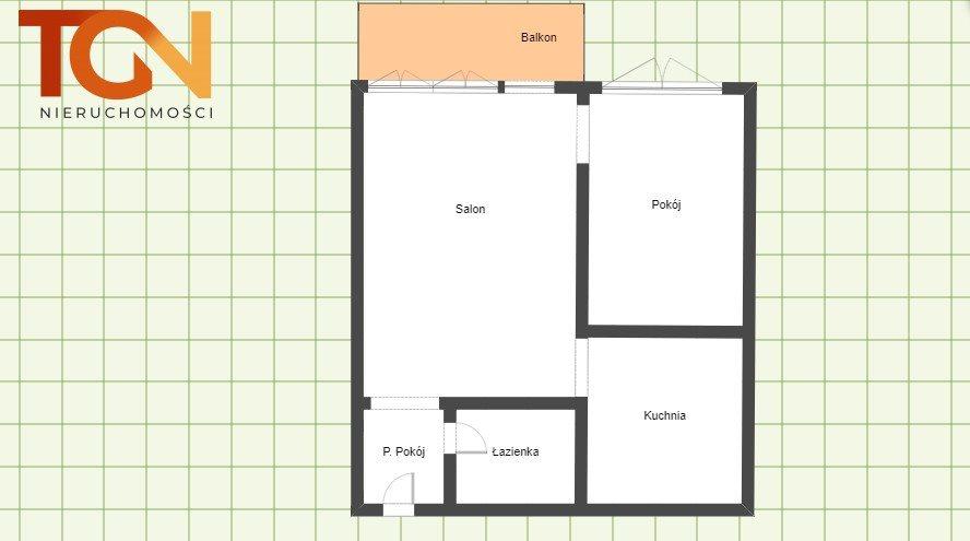 Mieszkanie dwupokojowe na sprzedaż Łódź, Rokicie, Tadeusza Rejtana  33m2 Foto 10