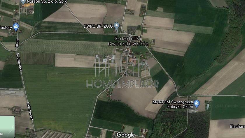 Działka budowlana na sprzedaż Sokolniki Gwiazdowskie  126100m2 Foto 1