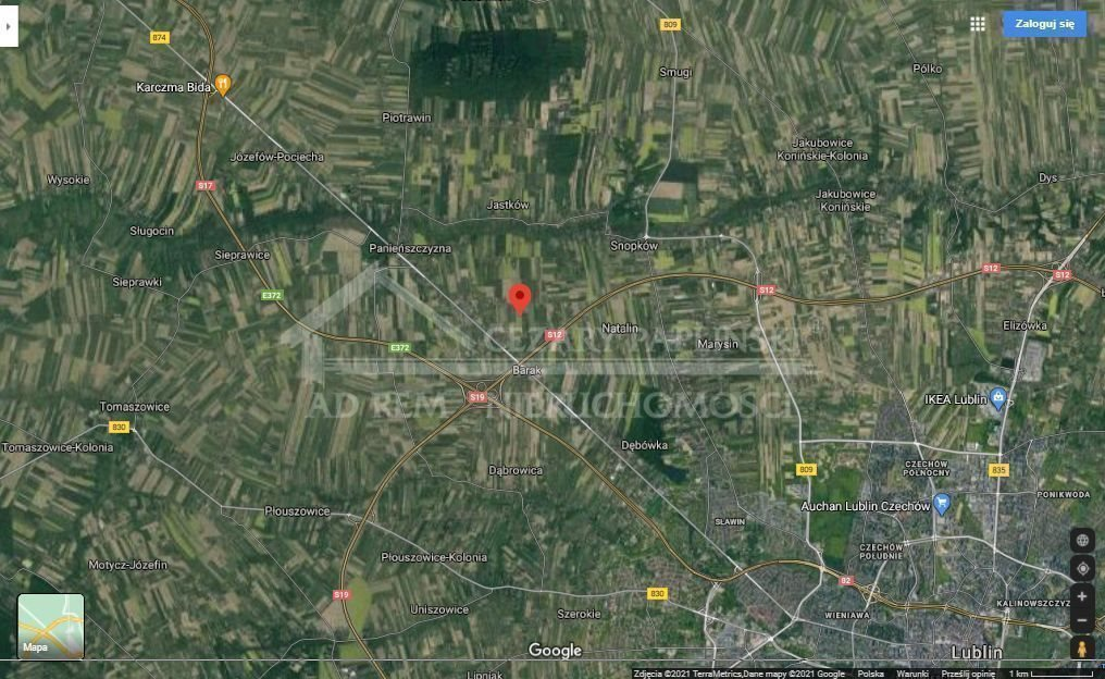Działka rolna na sprzedaż Panieńszczyzna, Jastków  3600m2 Foto 2