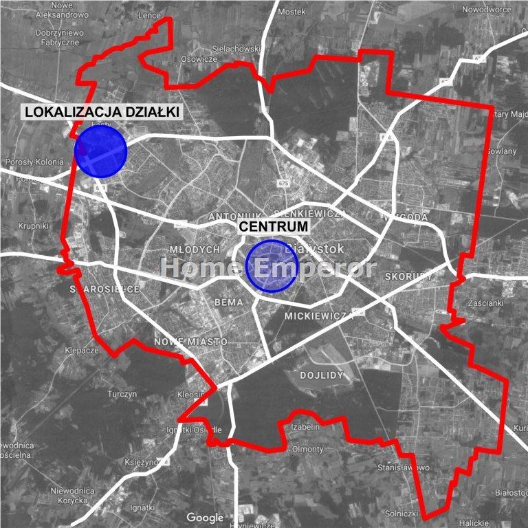 Działka inwestycyjna na sprzedaż Białystok, Bacieczki  3320m2 Foto 7