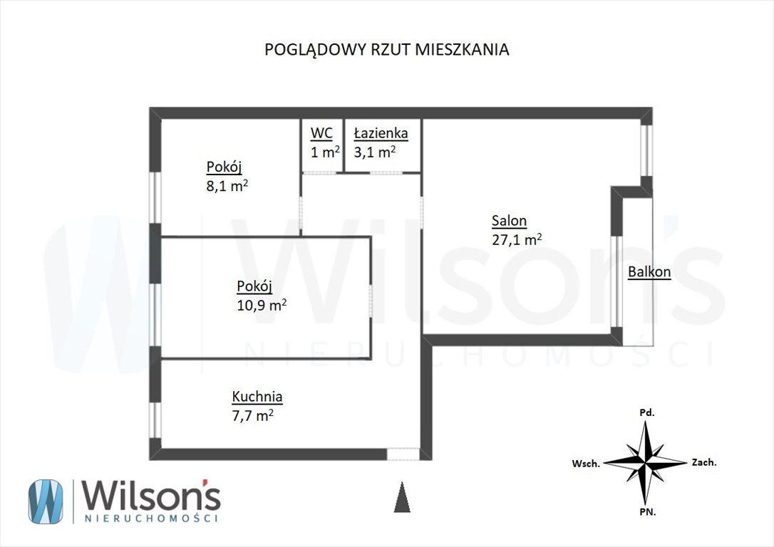 Mieszkanie czteropokojowe  na sprzedaż Gdańsk, Przymorze, Zbigniewa Burzyńskiego  72m2 Foto 9
