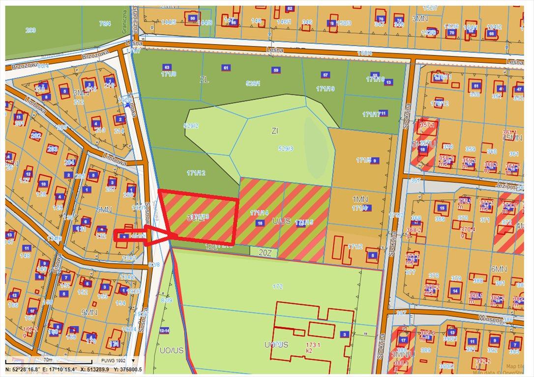 Działka komercyjna na sprzedaż Jerzykowo, Sosnowa  2197m2 Foto 7
