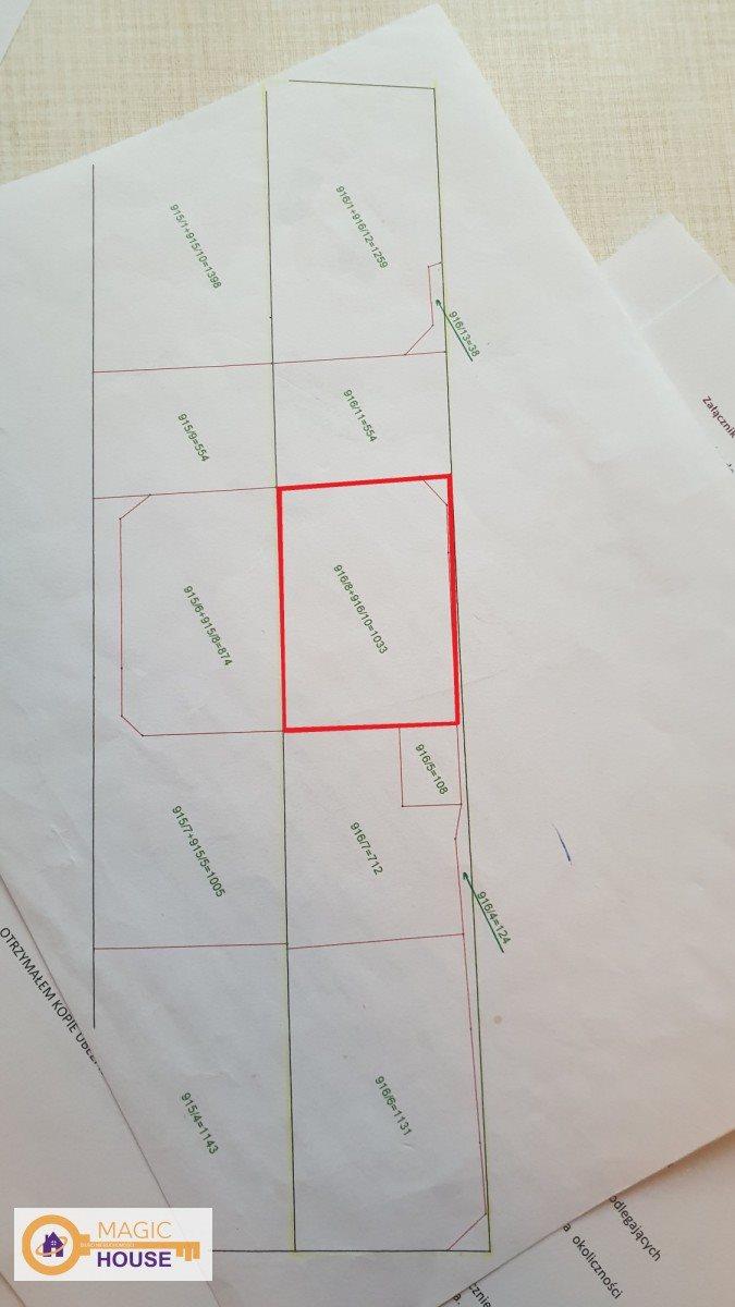 Działka przemysłowo-handlowa na sprzedaż Reda, Kazimierska  1033m2 Foto 3